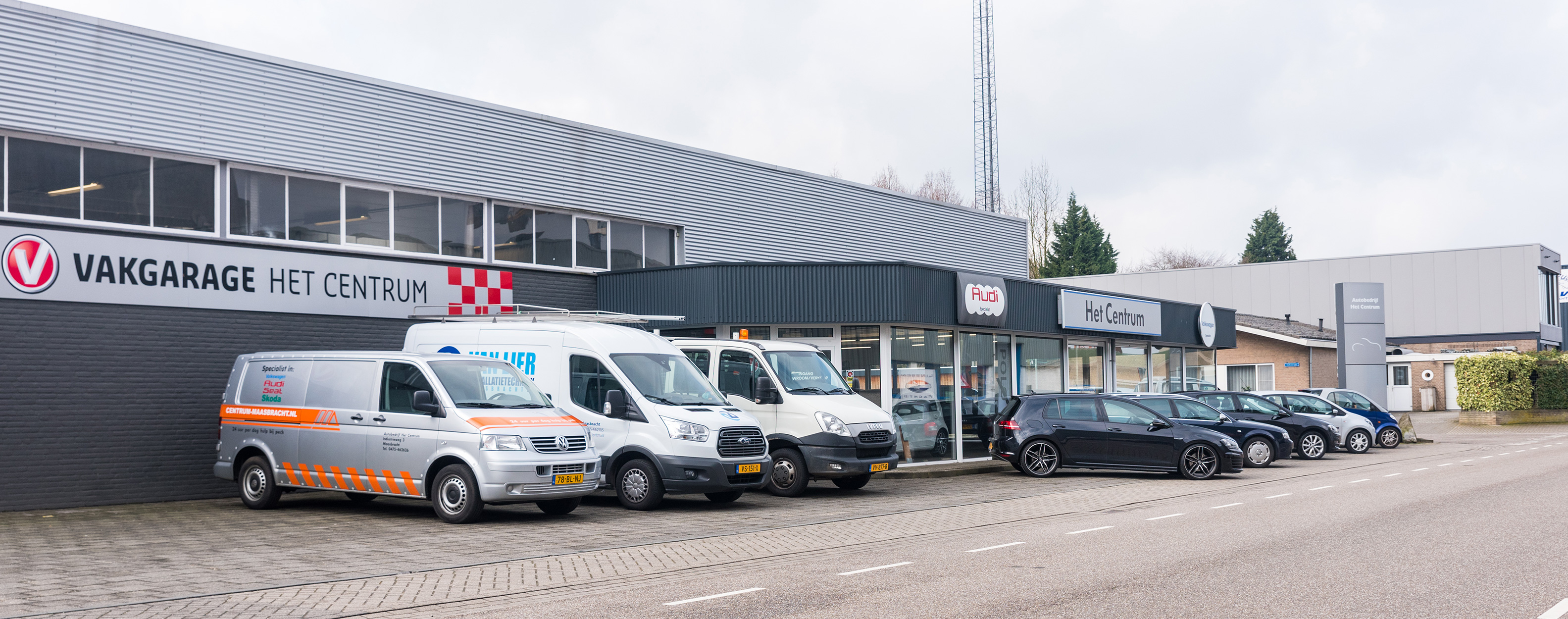 Lease Service Center Maasbracht, het Centrum