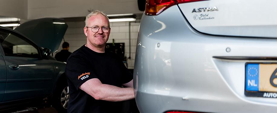 Doeke, eigenaar Automobielbedrijf Veld