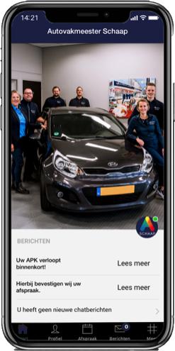 Download de Autovakmeester Schaap app