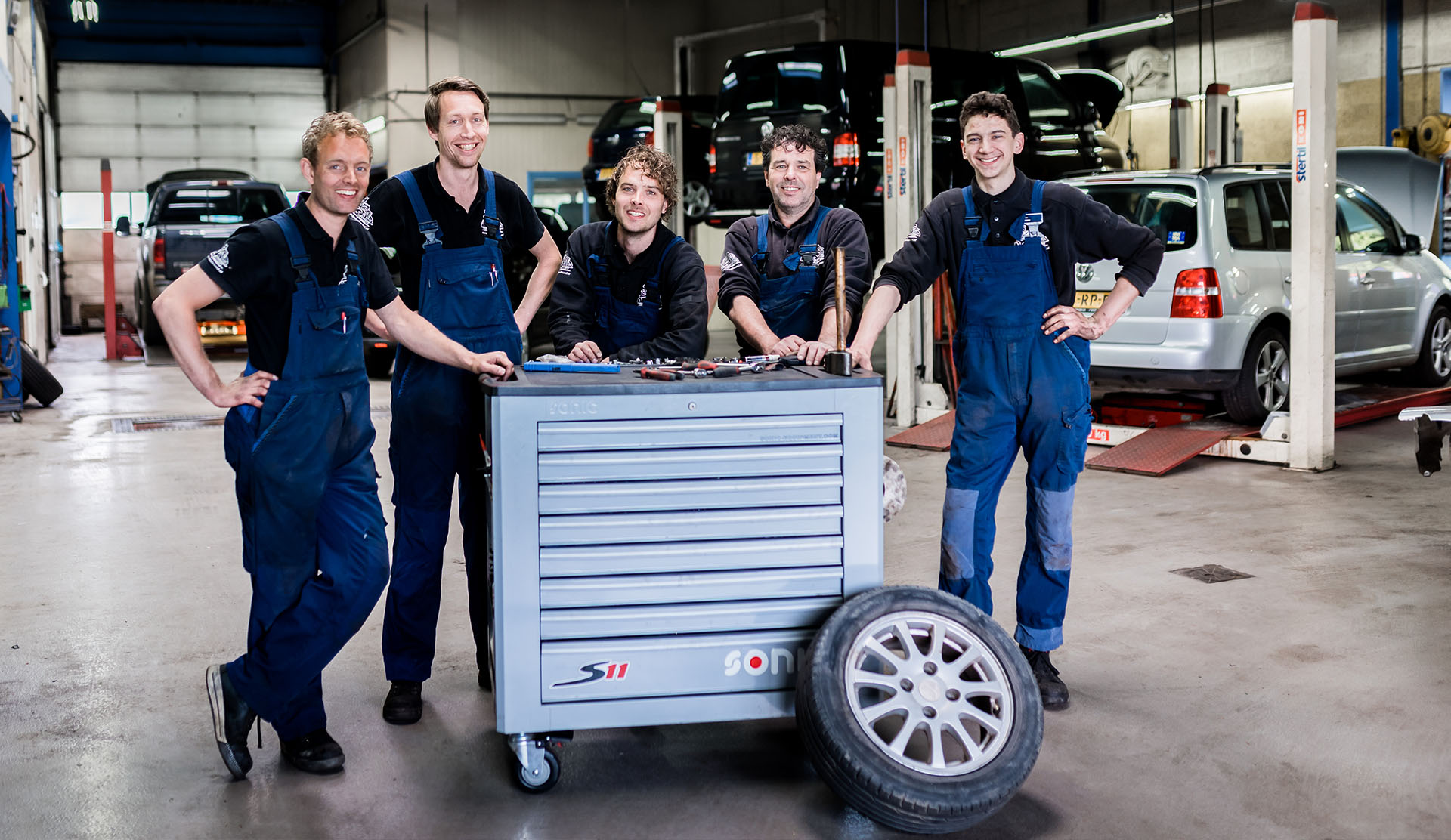 Het team van Garage All Round