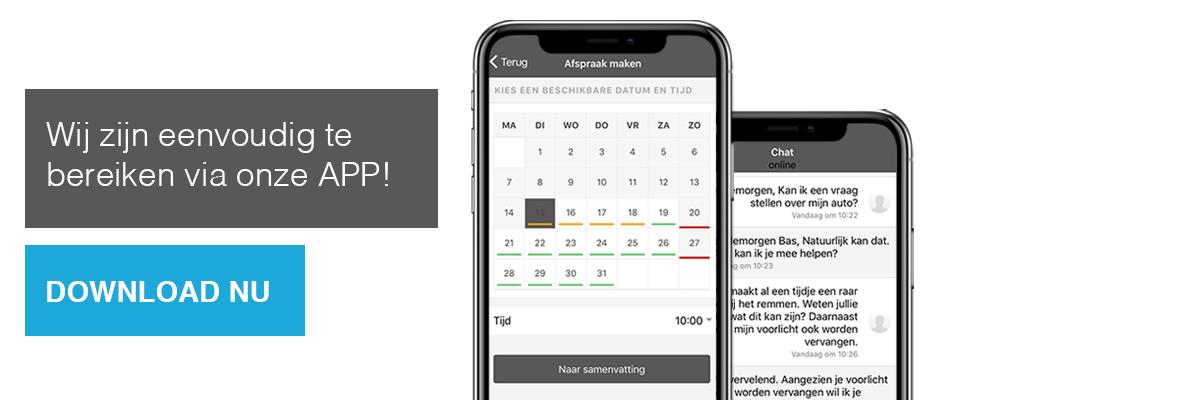 Download de app van Carxpert Dolfing