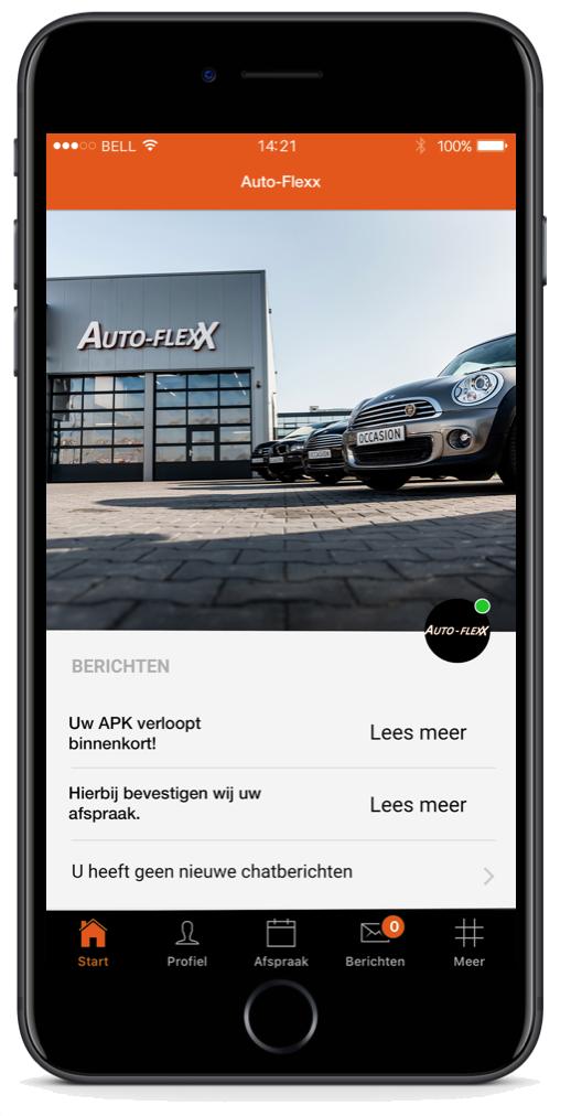 Download de Auto FlexX app