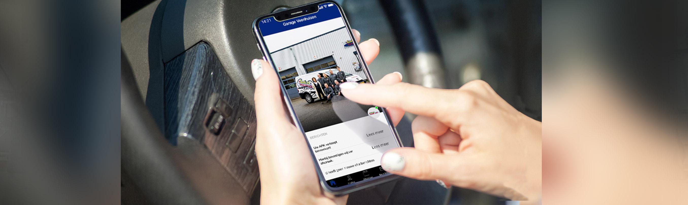 Download de garage Veenhuizen app