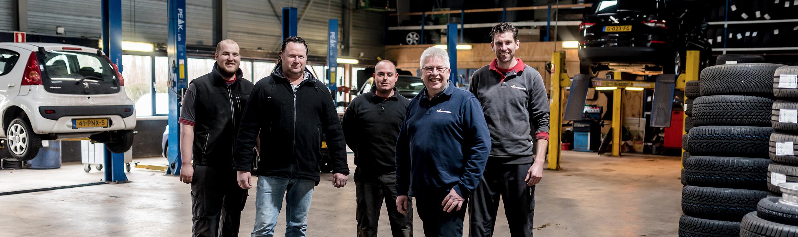 Het team van Autobedrijf van Vulpen
