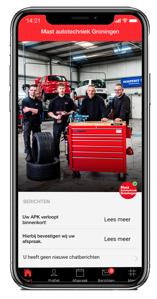 Download de Autotechniek Mast Groningen app