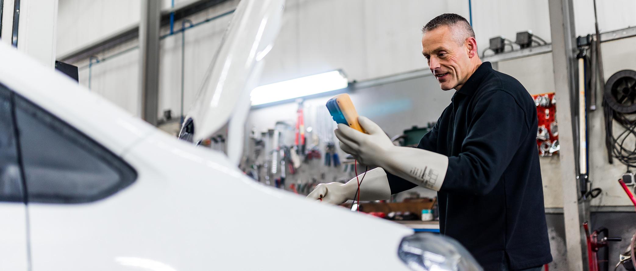 Onderhoud Elektrische en hybride voertuigen Autotechniek Mast Groningen