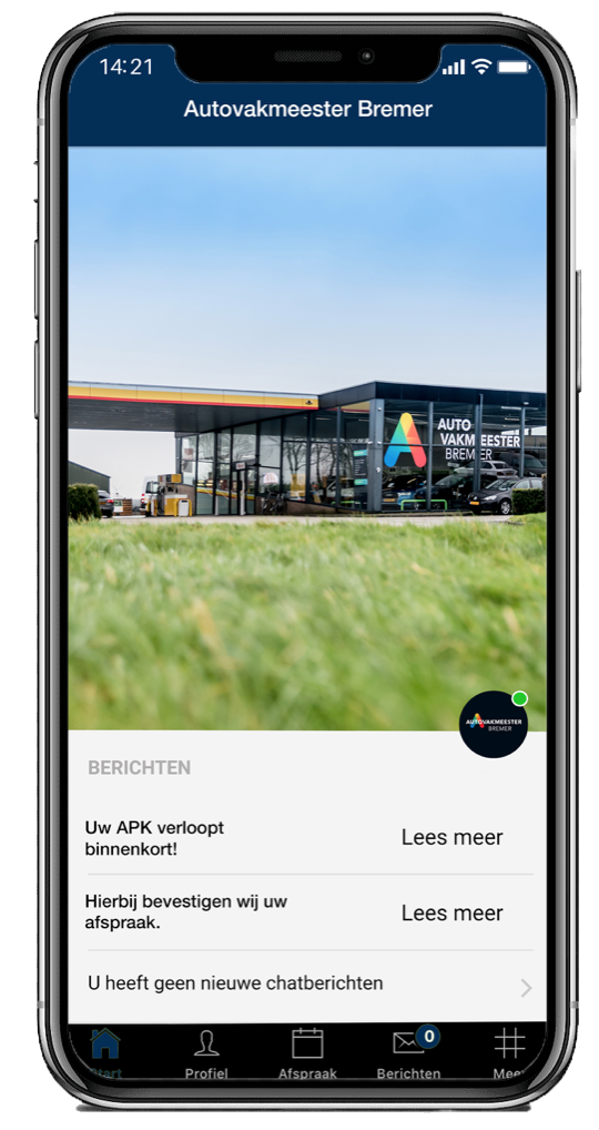 Download de autovakemeester Bremer app