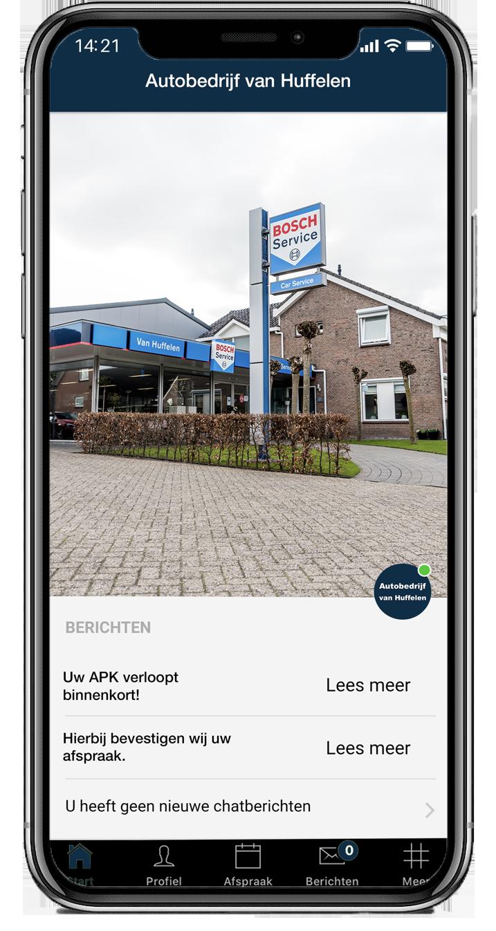 Autobedrijf van Huffelen app