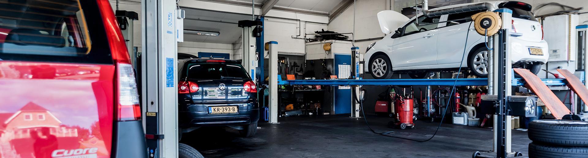 Werkplaats Garage van Vlijmen