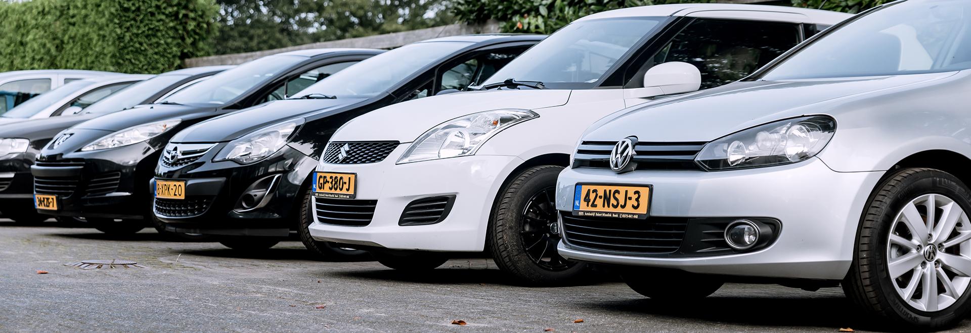 Verkoop autobedrijf Robert Wisselink auto kopen Baak