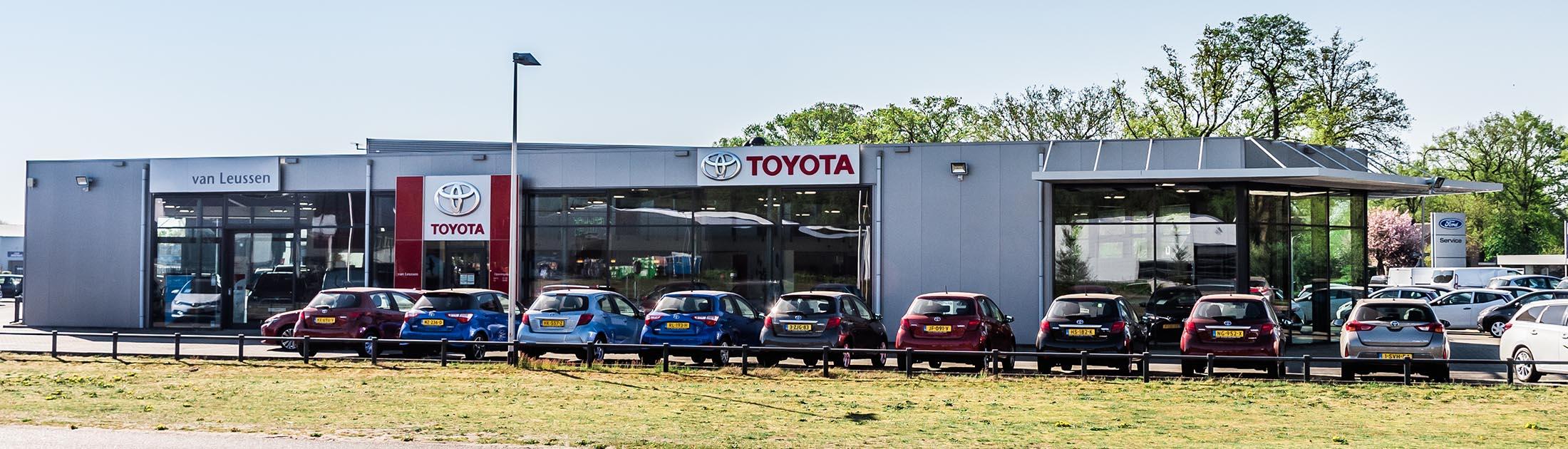 Garage van Leussen Ommen Toyota