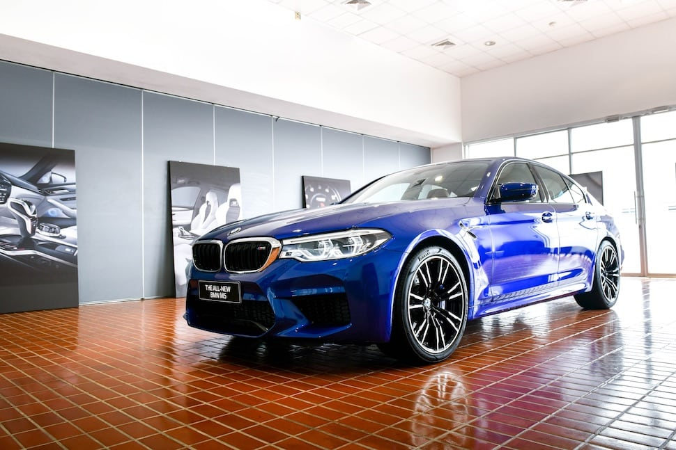 BMW M5 launched
