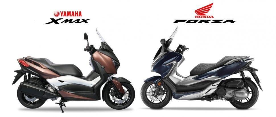 หมัดต่อหมัด 2018 Honda Forza 300 VS Yamaha XMax 300 ดูให้รู้ใครมีดีอะไร