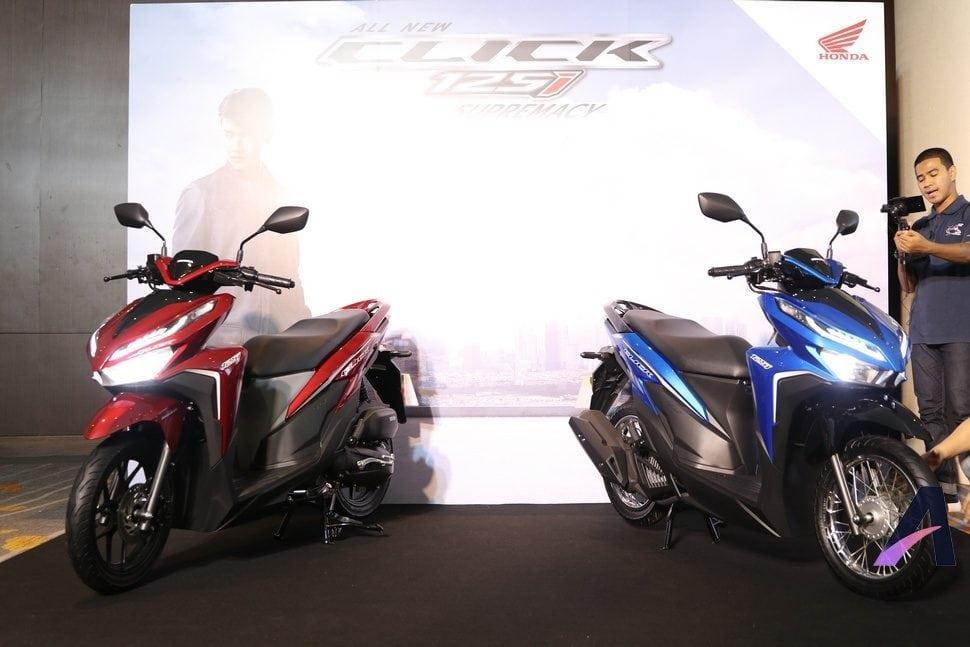 New Honda Click125i