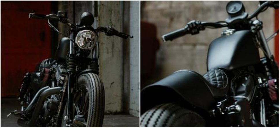 Harley-Davidson IRON883 Muttified