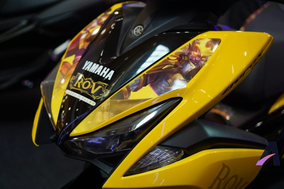 Yamaha Aerox155 RoV Edition