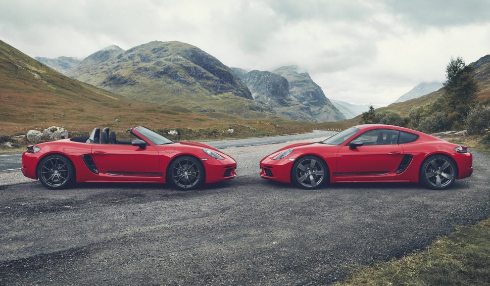 Boxster และ Cayman