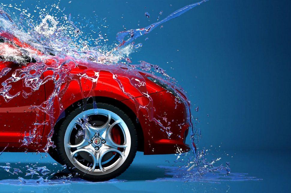 ล้างรถตอนจานเบรกยังร้อน