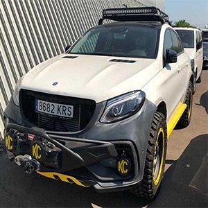 Mercedes-Benz GLE Coupe แต่งโหดสไตล์ Offroad