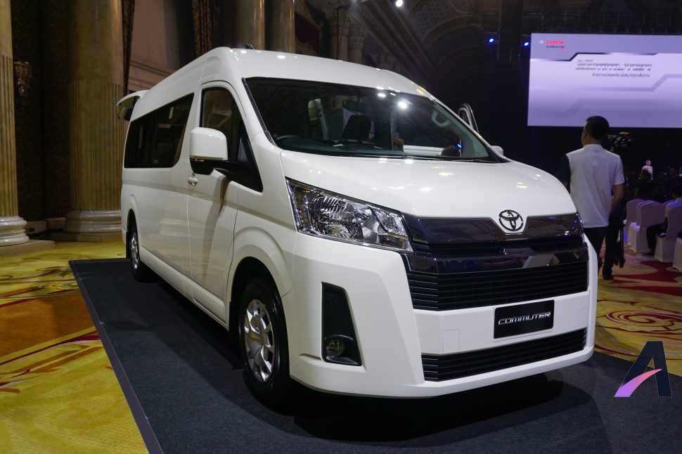 All New Toyota Commuter