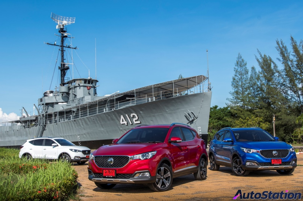 MG ZS manufacture