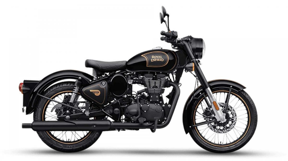 Royal Enfield 500 Classic Tribute Black
