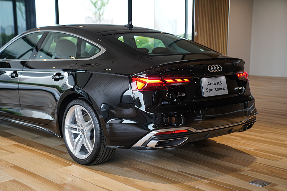 เปิดตัว The New Audi A5 Minorchange