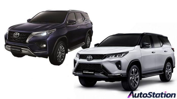 Toyota Fortuner 2020 Minorchange