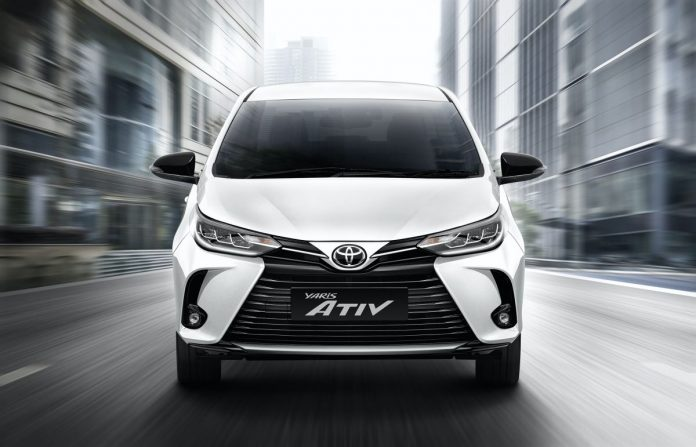 New Toyota Yaris ATIV