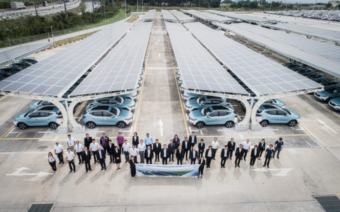 MG Solar Carpark