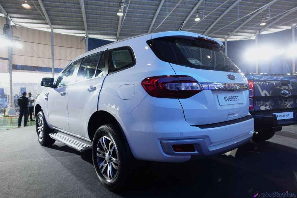 New Ford Everest Trend