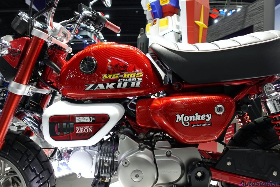 Honda Monkey Gundam