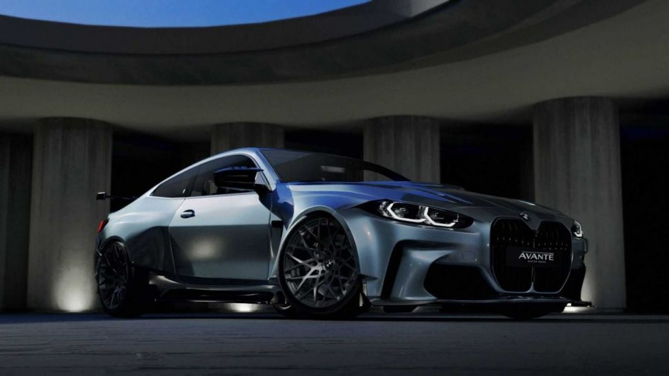 2021 BMW M4 Coupe Widebody