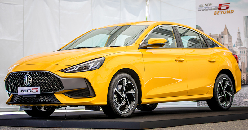 All-New MG 5 2021