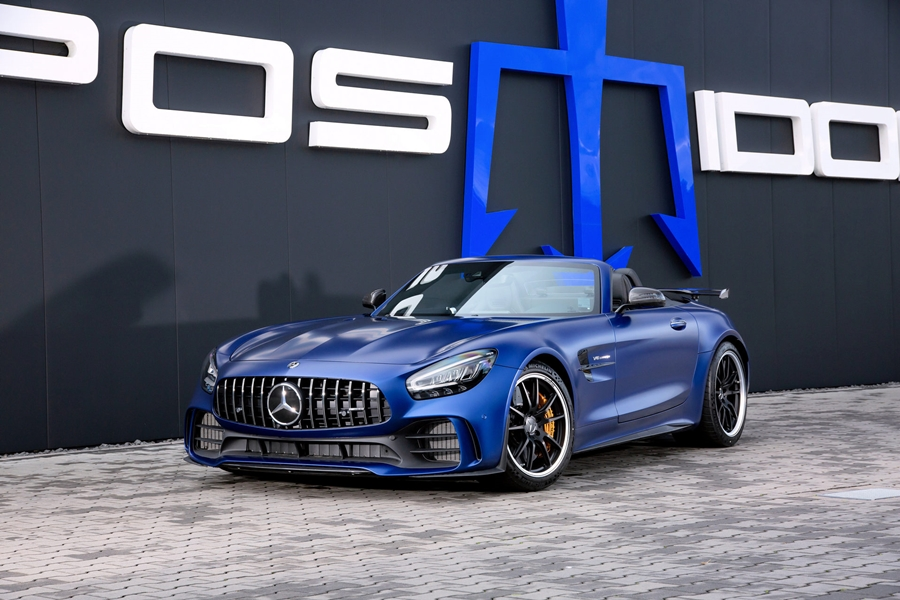 Mercedes AMG GT R Roadster Posaidon