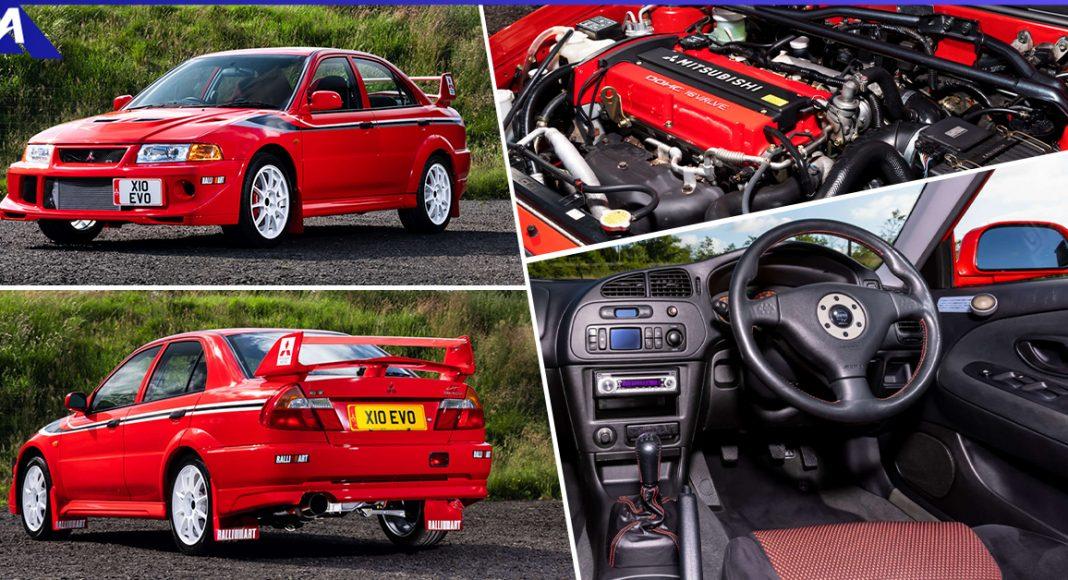 Mitsubishi Evolution Tommi Makinen Edition