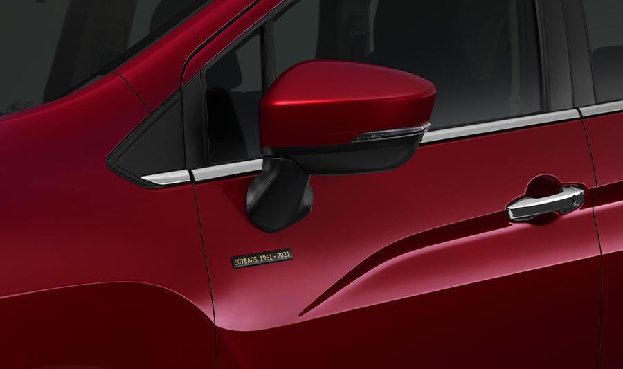 Mitsubishi Xpander Passion Red