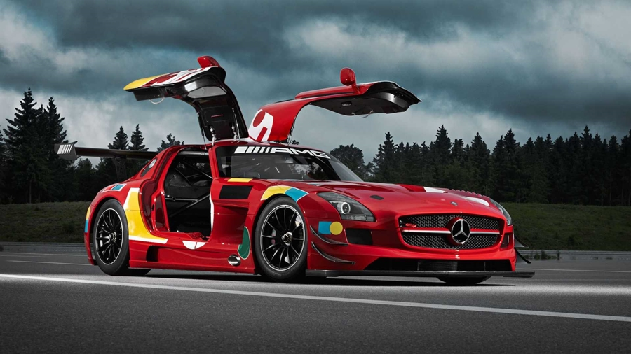 Mercedes AMG 50 Years Legend Of Spa