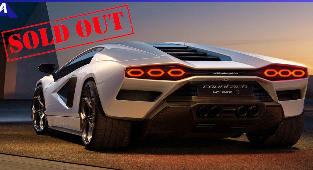 Lamborghini Countach LPI800 4 Sold Out