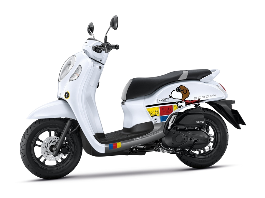 New Honda Scoopy Snoopy Limited Edition