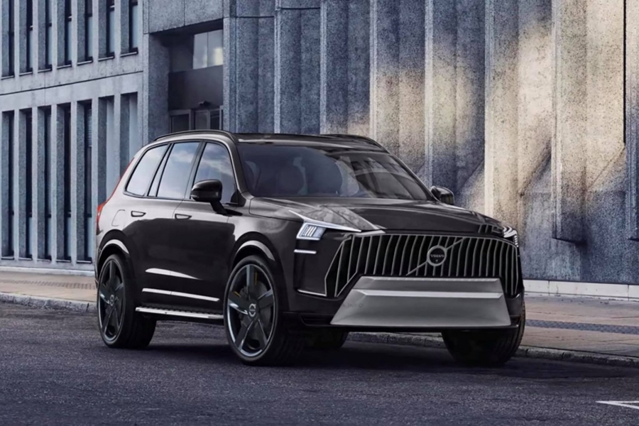 All New Volvo XC90 2022