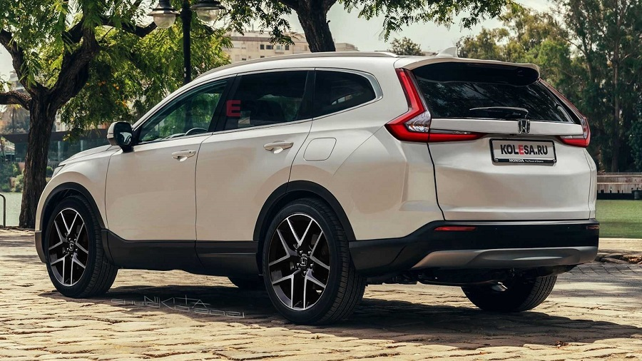 Render All New Honda CR V