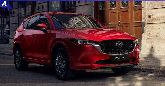 Mazda CX 5 Facelift 2022
