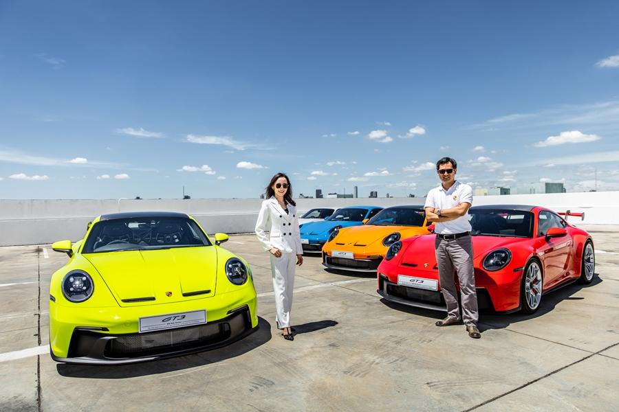 Porsche 911 GT3 Launch