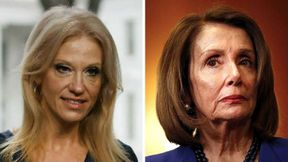"White House counselor Kellyanne Conway engaged in a tense exchange with Speaker Nancy Pelosi (D-Calif.) on Wednesday after President Trump suddenly cut short a meeting on infrastructure.  Trump left the meeting after berating Democrats for roughly three minutes about their investigations and Pelosi's claim that he had ""engaged in a cover-up.""  Pelosi then told others who remained that past Presidents Thomas Jefferson and Theodore Roosevelt worked with their opponents to solve infrastructure problems, but added she was not surprised Trump walked away, according to a source familiar with the exchange.  Conway then turned to Pelosi and asked if she had ""a direct response to the president.""  When Pelosi replied that she was responding to the president, and not to his staff, Conway replied: ""Really great, that's really pro-woman of you.""  The back-and-forth underscored the animosity between Trump and Democrats following the president's decision to pull the plug on infrastructure talks.  After leaving the meeting, Trump aired his grievances with Pelosi over her ""cover-up"" allegation and threatened to halt all work with Democrats if they do not stop investigating him.   SOurce: https://www.msn.com/en-us/news/politics/conway-clashes-with-pelosi-after-trump-infrastructure-blow-up/ar-AABKYL2?li=BBnb7Kz"