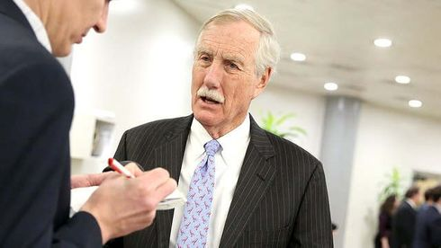 """Sen. Angus King (I-Maine) and Rep. Mike Gallagher (R-Wis.) announced Wednesday that they will lead the newly established Cyberspace Solarium Commission (CSC), a group of government and industry officials working to create a report on how to defend the U.S. in cyberspace.  The CSC, established by the 2019 National Defense Authorization Act (NDAA), will hold """"regular information-gathering hearings"""" to review cyber threats, with the goal of creating a report that includes """"strategic recommendations"""" to prevent cyberattacks in a changing global landscape, according to the chairmen.  As stated in the 2019 NDAA, the CSC has until Sept. 1 to send its report to Congress and multiple federal agencies. King and Gallagher said the rollout of the report will also include hearings to discuss the report's findings involving congressional committees on defense, intelligence and homeland security.  ADVERTISEMENT King vowed on Wednesday to use the CSC to """"build a foundation"""" to both protect the U.S. against cyberattacks and discourage adversaries from launching attacks on the nation's digital infrastructure.    """"At this moment, we do not have a clear strategy to prevent bad actors from attacking our vital infrastructure, and with each passing moment of inaction, the risks grow graver,"""" King said. """"I deeply believe that the next crippling attack on our country will be a cyber-attack; from attacks on critical infrastructure such as our electrical grid, financial sector, or telecommunications network to further interference in our free and open elections, there are a number of vulnerable targets that our enemies could exploit in order to inflict serious harm on the American people.""""  King added """"the United States government owes it to the American people to take this challenge head on.""""  Gallagher said in a statement that """"cyberspace is a decisive battlefield in the 21st century,"""" adding that """"every day, Americans are on the frontline of a new kind of conflict—wittingly or not—and we l"""