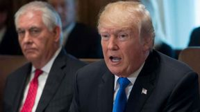 """President Trump on Thursday blasted Rex Tillerson after The Washington Post reported that the former secretary of State told lawmakers that Russian President Vladimir Putin was better prepared than Trump for a meeting in 2017.  """"Rex Tillerson, a man who is 'dumb as a rock' and totally ill prepared and ill equipped to be Secretary of State, made up a story (he got fired) that I was out-prepared by Vladimir Putin at a meeting in Hamburg, Germany,"""" Trump tweeted.  """"I don't think Putin would agree. Look how the U.S. is doing!""""  The president nominated Tillerson as secretary of State at the outset of his administration, and fired him in March 2018 amid numerous clashes over U.S. foreign policy.   Source: https://www.msn.com/en-us/news/world/trump-fires-back-at-dumb-as-a-rock-tillerson-on-putin/ar-AABNEuQ"""