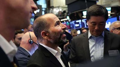 """Friday was bad. But how's Monday?  Uber's agonizingly difficult first day as a public company was a cold shower for Silicon Valley's hottest company, a dousing that drenches both the euphoria of selfie-happy Uber investors and maybe the hopefulness of other startups preparing to follow it to their own IPOs.  But Silicon Valley should wait a few months before flooding itself in its tears and dire premonitions.  To be sure, it was ugly. Uber closed its first day of trading down more than 7 percent — a costly fall that sent Uber shares below its already scaled-back IPO price and tumbling toward a market capitalization of merely $70 billion, lower than the valuation in its last private round of financing. And more symbolically, Uber's sell-off was embarrassing for an IPO process that is typically so carefully produced and stage-managed, especially given that Uber has been the iconic startup of its vintage in Silicon Valley.  The average US-listed tech IPO since 2010 has """"popped"""" — the uptick in a stock's price on its opening day — by about 23 percent, according to Dealogic. In fact, Uber's decline makes it one of the eighth-worst performing US tech IPO that raised more than $1 billion of all time, per Dealogic data.  About one-quarter of US-listed IPOs since 2010 have ended up underwater after their first day, Dealogic says.  So, yeah, it was bad. But how much does it really matter?  For starters, most of Uber's prior shareholders cannot sell their stock for six months due to what's called a lock-up period, meaning that while their shares might be underwater on May 10, 2019, it's purely a theoretical consideration. It's not as if they could sell them for a profit if Uber stock had spiked on Friday. So if Uber crawls around in negative territory from now until November, then employees are in their rights to grab the pitchforks.  Some argue that Uber's troubles on Friday had little to do with Uber specifically. The S&P 500 had its worst week of 2019 amid US-China trade te"""