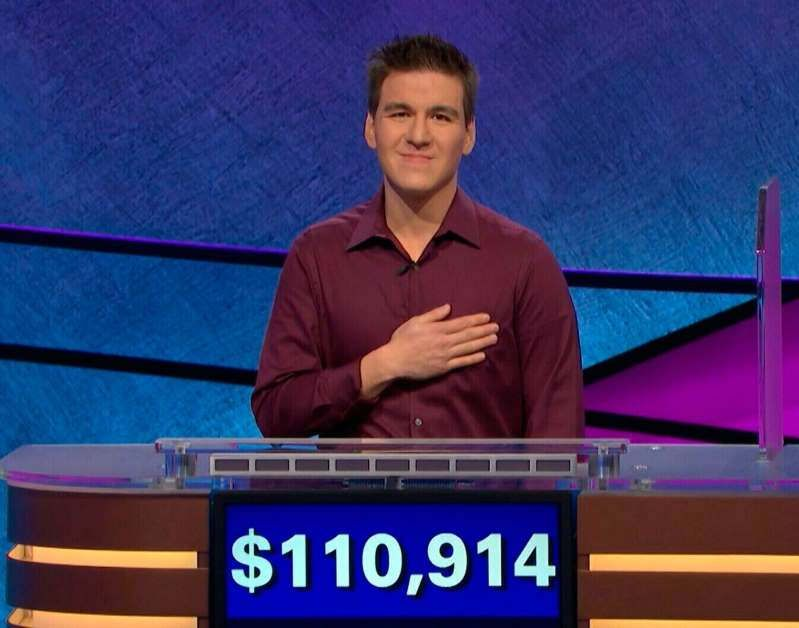 """Another day, another triumph for reigning """"Jeopardy!"""" champ James Holzhauer.  Holzhauer, 34, recorded his 25th consecutive win on Wednesday's edition of the popular quiz show.  With $71,885 in winnings Wednesday, Holzhauer, a professional sports gambler from Las Vegas, now sits at $1,939,027 in total prize money. He would cross the $2 million barrier with one more victory at his current daily average of $77,561.  Holzhauer's streak has spurred renewed interest in the venerable quiz show, which –with host Alex Trebek – is celebrating its 35th anniversary season.   Holzhauer ranks second all-time in """"Jeopardy!"""" victories and prize money. He trails only Ken Jennings, who remains in the top spot on both lists: 74 victories and $2,520,700 in prize winnings.  Although the current champ remains far from Jennings' win total, he's closing in on the money crown based on a playing strategy that features picking higher-dollar clues first and betting aggressively on Daily Doubles.  Holzhauer's average daily winnings eclipse the previous one-day high, $77,000, set by Roger Craig in 2010. If he keeps winning and continues at that winnings pace, he will be surpass Jennings' money mark with fewer than 10 more victories.   Source: https://www.msn.com/en-us/tv/news/jeopardy-juggernaut-james-holzhauer-moves-closer-to-dollar2-million-winnings-with-25th-win/ar-AABL4u3?li=BBnb7Kz"""