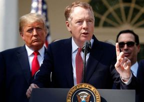 "As senior officials from the U.S. and China gathered in the Oval Office in February, President Trump had a simple message for his top negotiator, Robert Lighthizer: Close the deal.  ""Mr. Lighthizer has done a great job,"" Mr. Trump told the negotiating teams, as reporters looked on. ""But it's only a great job, Bob, if you get it finished, right?""  Three months later, the U.S.-China trade deal remains far from finished. Talks broke down this month as Beijing resisted U.S. demands that China change its laws to cement the accord, which Beijing saw as an assault on its sovereignty.  The impasse, after indications that a deal was in sight, reflects the Trump administration's determination that any deal should focus on long-term changes in Chinese economic and business rules. To trade lawyers and others following the talks, Mr. Lighthizer's fingerprints are plainly visible.  Before his appointment in 2017 as U.S. trade representative, Mr. Lighthizer spent three decades as a trade lawyer, largely representing U.S. Steel Corp. and other clients as they petitioned the U.S. government for tariffs on overseas rivals.  According to lawyers who have worked alongside Mr. Lighthizer for years, for him the goal of negotiation isn't to find a compromise or middle ground, but to pursue aggressively the best deal possible for his client. ""He brings the characteristics to the table that you would want,"" said Clete Willems, a former Trump administration trade adviser who recently joined law firm Akin, Gump Strauss, Hauer & Feld LLP. ""His background suits him uniquely well to the situation"" with China.  Not everyone is a fan of the no-holds-barred approach. Miriam Sapiro, former acting U.S. trade representative in the Obama administration, said trade negotiators need to recognize that each side must score wins to reach a successful deal.  ""If you're negotiating an agreement — a trade agreement or really any agreement — an approach of 'my way or the highway' is not likely to work,"" said Ms. Sapiro, in comments aimed at U.S. trade negotiators in general. ""An adversarial hat may work at certain moments, but it's not necessarily going to be the strategy that gets you across the finish line.""  Like the president, Mr. Lighthizer, 71 years old, eschews complex deals with several countries at once and has sought concessions from China unilaterally, despite many lawmakers' calls for a multilateral approach that wouldn't expose U.S. firms to so much risk from trade fights. ""The more people you bring into the negotiations, the harder it is,"" Mr. Lighthizer told a House committee in March.  Mr. Lighthizer, who declined a request for an interview, does most of his work behind the scenes. But on occasion he will seize a public platform to attack trading partners' positions at crucial moments in the negotiations.  In 2018 talks to overhaul the North American Free Trade Agreement, or Nafta, he used a news conference to vent frustration against Canadian Foreign Minister Chrystia Freeland in Montreal, attacking a Canadian proposal for new auto rules.  Mr. Lighthizer later used some of the Canadian ideas in an auto deal he struck with Mexico. Ms. Freeland called Mr. Lighthizer a ""true professional"" last week after the two struck a deal to eliminate U.S. steel and aluminum tariffs and Canadian retaliation.  Similarly, Mr. Lighthizer used a rare briefing at his office this month to attack China's actions at the negotiating table, accusing Chinese officials working on the agreement of a ""redrafting of it in ways that pulled back important commitments.""  Mr. Lighthizer cut his teeth in the 1980s as a deputy U.S. trade representative in the Republican Reagan administration. Mr. Reagan backed free trade, but officials including Mr. Lighthizer used America's economic heft and influence at the latter stages of the Cold War to win concessions that limited U.S. imports from fast-growing emerging markets.  Japanese officials at the time called him ""missile man"" after he took a proposal from Tokyo, made it into a paper airplane, and threw it back at them.  Later, Mr. Lighthizer entered a long period as a trade lawyer at Skadden, Arps, Slate, Meagher & Flom LLP, focusing on corporate calls for tariffs. He took a break in 1996 to serve as the treasurer and an adviser to the presidential campaign of former GOP Sen. Bob Dole.  Along the way, he staked out a major position on China, saying in 2010 testimony before the U.S.-China Economic and Security Review Commission that Washington should consider putting aside its low-tariff commitments under the World Trade Organization if China continued to violate market principles.  Thus Mr. Lighthizer was a near-perfect fit for the Trump administration, since Mr. Trump had promised to tear up old agreements and use the threat of tariffs to put together new deals that he said would restore U.S. sovereignty. Recent U.S. trade representatives had leaned more toward free-trade orthodoxy.  U.S. officials say one reason for Mr. Lighthizer's hard line is the belief that China has ignored previous trade obligations, so he wants to make any new deal as legally binding as possible.  ""Our objectives are to foster reform in China,"" Mr. Lighthizer told Congress recently, saying the country's state capitalism and technology thefts were an ""existential problem.""  The insistence on changing Chinese law is sensitive for Beijing because it represents an imbalance in the agreement: U.S. law isn't expected to change, because the Trump administration isn't planning to submit any deal with China to Congress.  ""You can't have American officials going all over China without reciprocity, and we would have to have a similar concession to China for it to make sense,"" said Jerome Cohen, an expert in Asian law at New York University's law school.  There are other issues beyond the legal question, including the Trump administration's desire to remove tariffs only gradually to ensure China complies with the terms of the deal.  Politics and geopolitics are also in play in both countries. Mr. Trump, who was elected in part by promising to be tough on China, could also be returning to a more hawkish approach as he prepares for the 2020 campaign.  ""If Bob can't get a deal, there may not be a deal to be had,"" said Michael Wessel, a trade consultant and member of the U.S.-China Economic and Security Review Commission.   Source: https://www.msn.com/en-us/news/politics/trumps-point-man-on-china-trade-still-trying-to-close-the-deal/ar-AABN9eB"